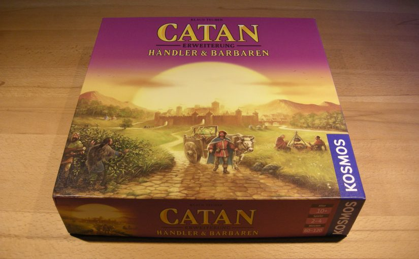 Catan - Händler & Barbaren
