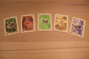 Catan - Die Rohstoffkarten