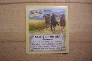 Catan - Grösste Rittermacht