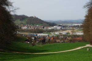 Blick auf Mägenwil