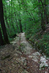 Römerweg Anfang