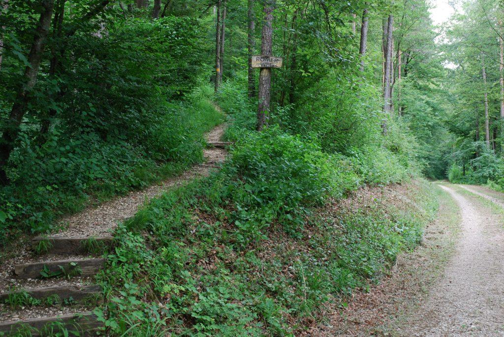 Römerweg Ende