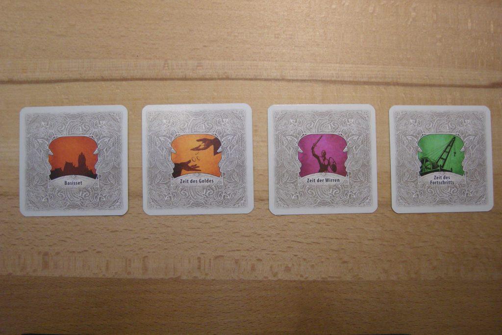 Catan - Das Duell: Ausbaukarten