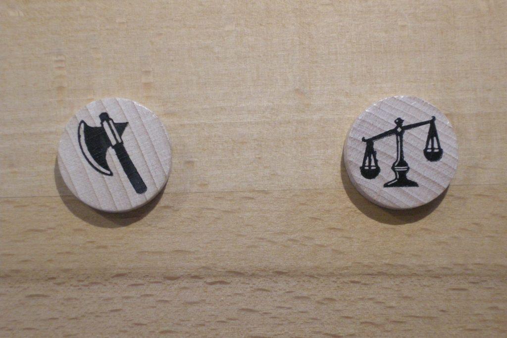 Catan - Das Duell: Steine