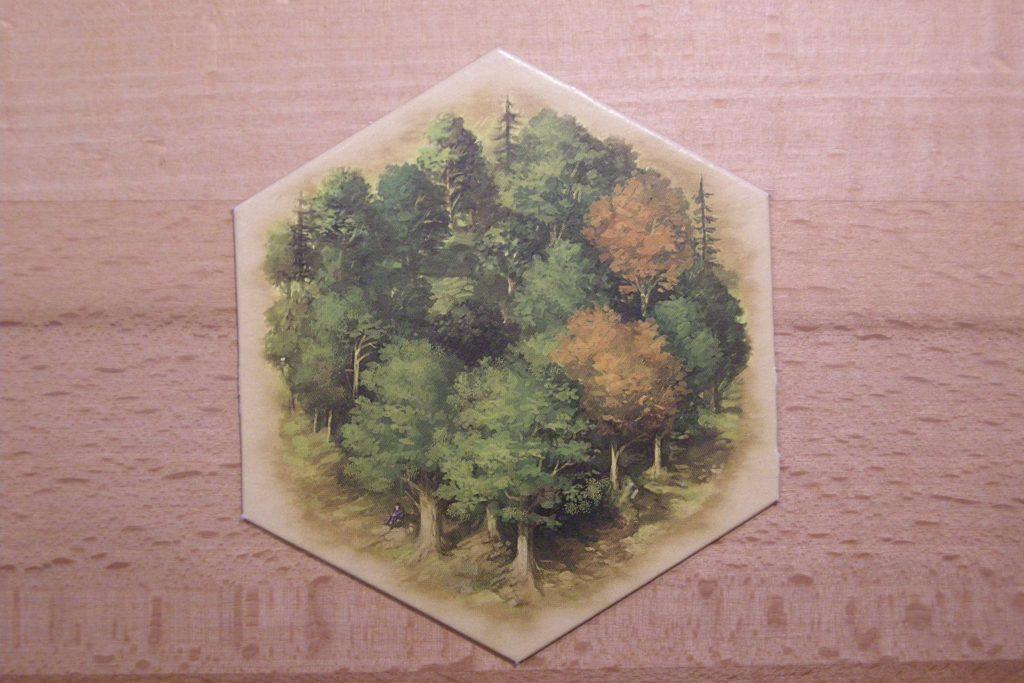 Catan - Landschaftsfeld Wald