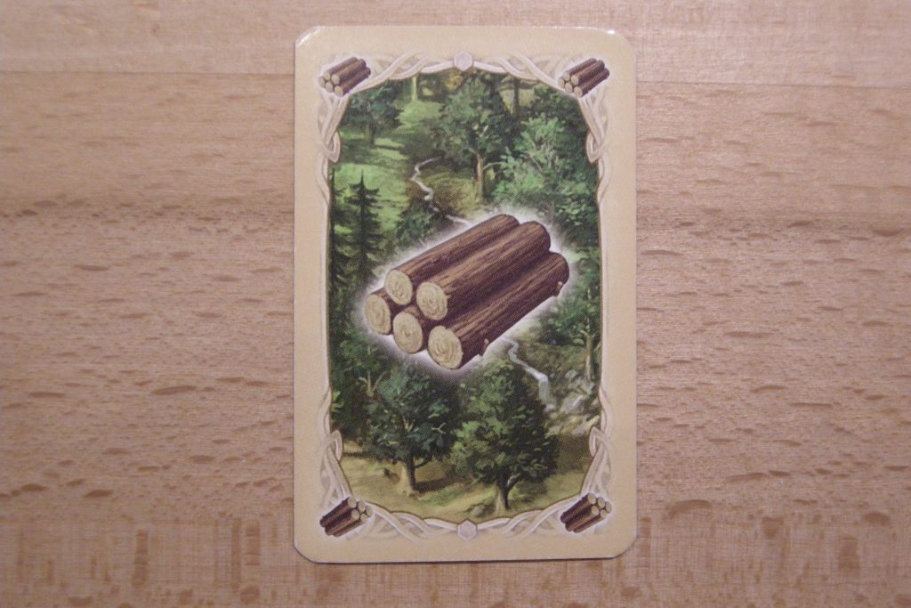 Catan - Rohstoff Holz