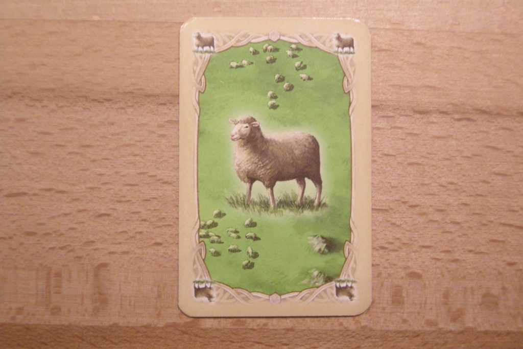 Catan - Rohstoff Wolle