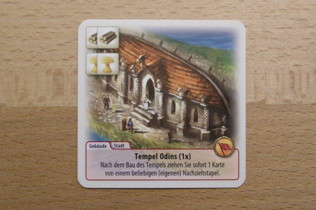 Die Fürsten von Catan: Tempel Odins
