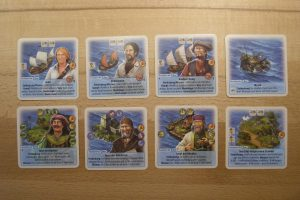 Die Fürsten von Catan: Meerkarten