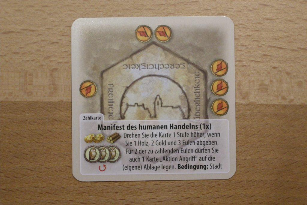 Die Fürsten von Catan: Manifest des humanitären Handels