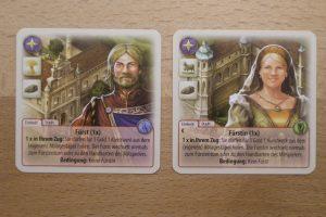 Die Fürsten von Catan: Fürst und Fürstin