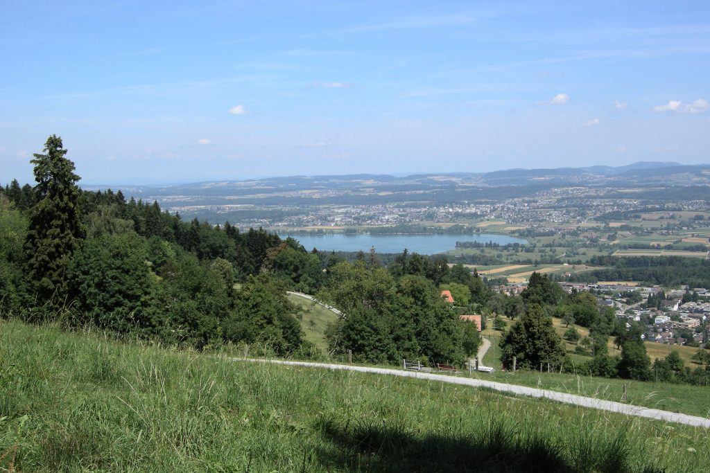 Pfannenstiel Richtung Greifensee