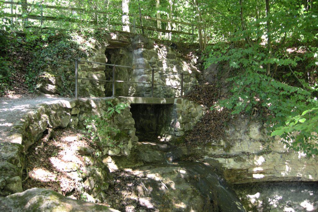 Dorfbachtobel Durchgang