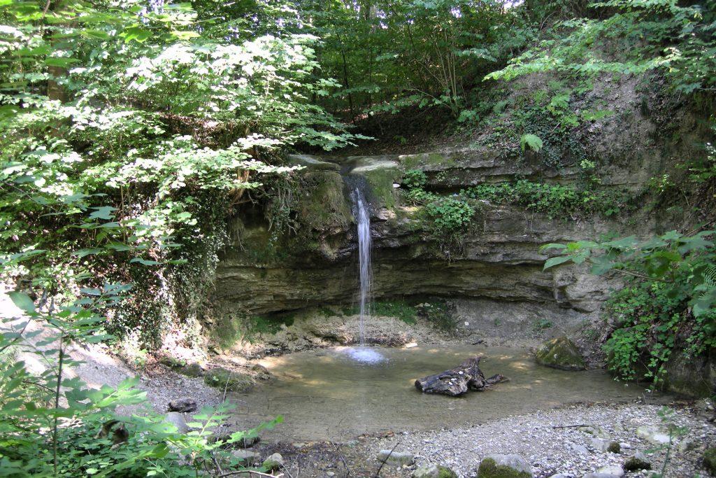 Dorfbach Wasserfall
