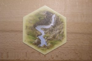 Catan - Landschaftsfeld Goldfluss