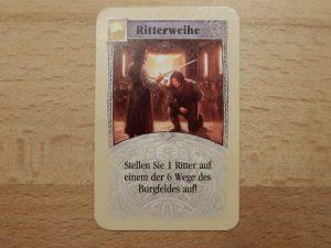 "Catan - Entwicklungskarte ""Ritterweihe"""