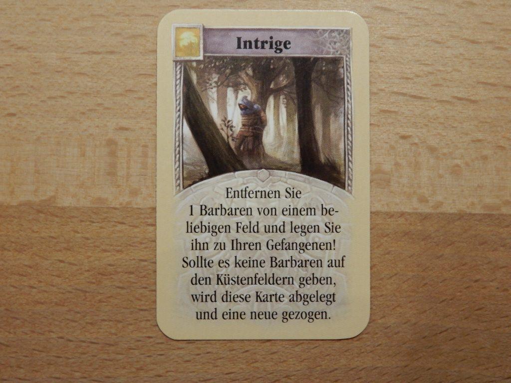 """Catan - Entwicklungskarte """"Intrige"""""""