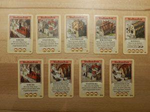Catan - Das schnelle Kartenspiel: Stadtausbau