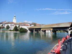 Historische alte Brücke Olten