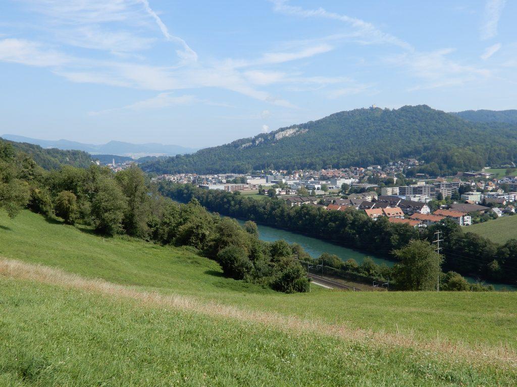 Aarburg mit Schloss Wartburg