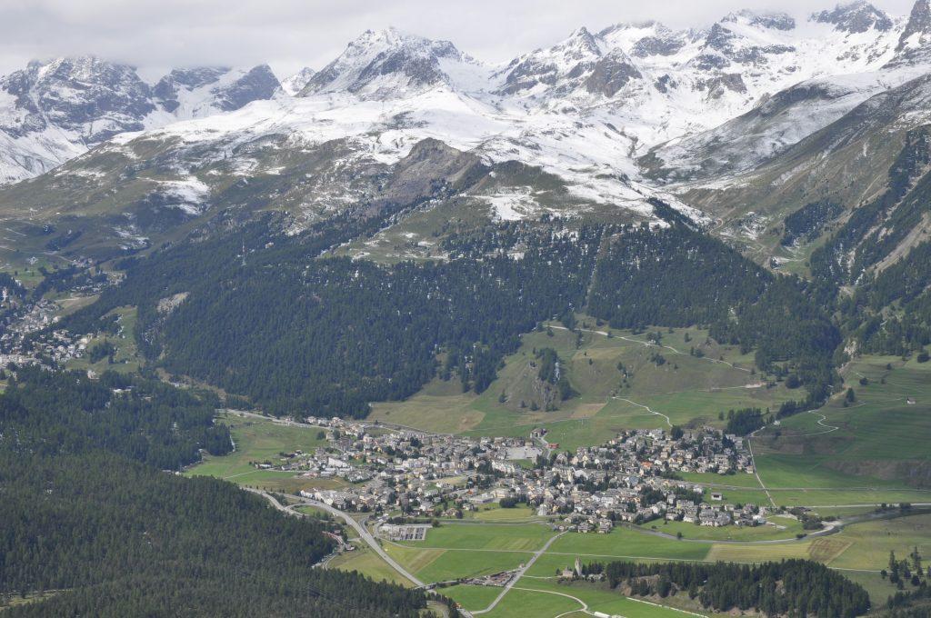 Skigebiet Corviglia - Marguns