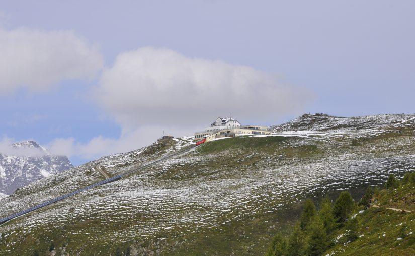 Blick auf den Muottas Muragl