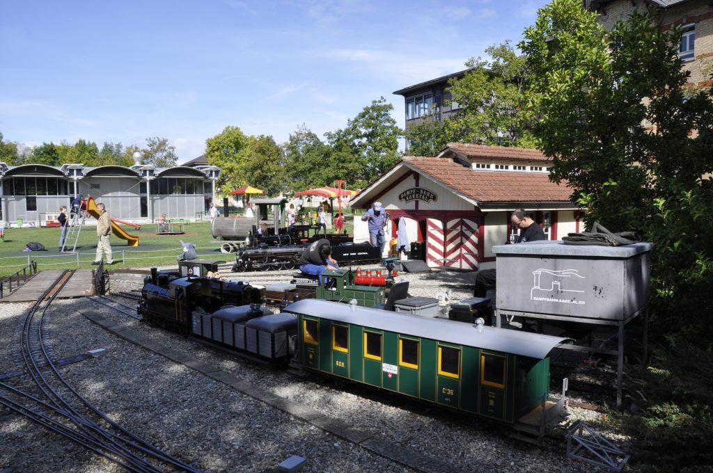 Depot am Bahnhof