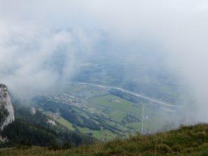 Blick Richtung Rheintal