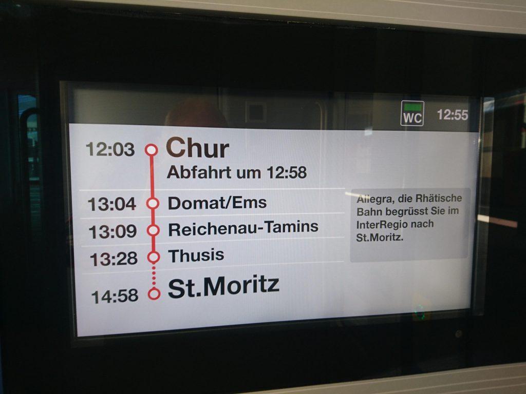 Im Alvra nach St. Moritz