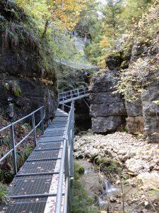 Spektakuläre Passage