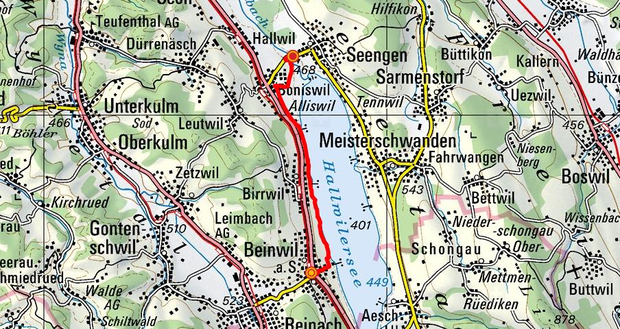 Beinwil am See - Birrwil - Schloss Hallwyl