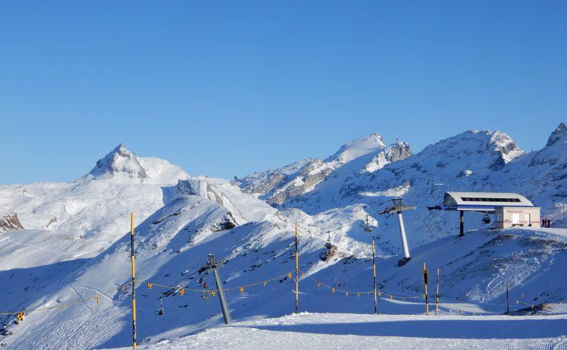 Bergstation Bonistock mit Titlis