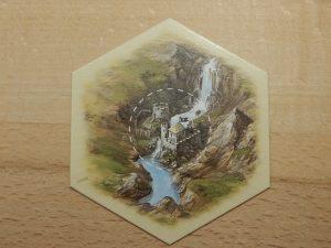 Catan - Landschaftsfeld Goldfluss mit Piratenlager