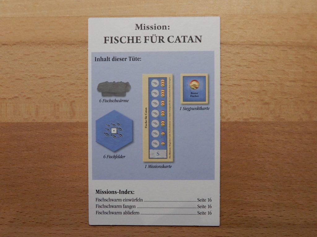 Catan - Mission: Fische für Catan