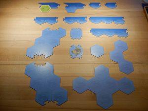Rahmenteile und Meerfelder - Vorderseite