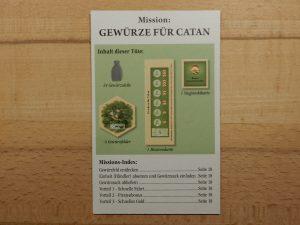Catan - Mission: Gewürze für Catan