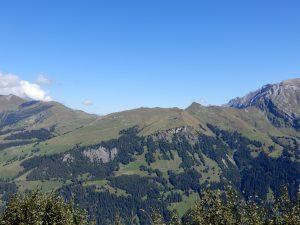 Ausblick zum Metschberg
