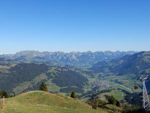 Ausblick vom Rinderberg