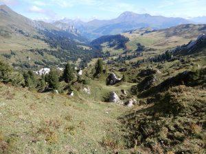 Blick von der Gryde ins Tal