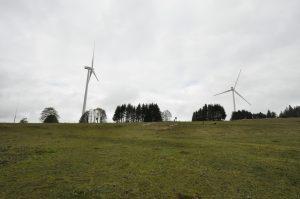 Windräder Mont-Soleil