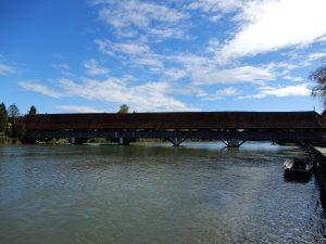 Holzbrücke Wangen a. A.