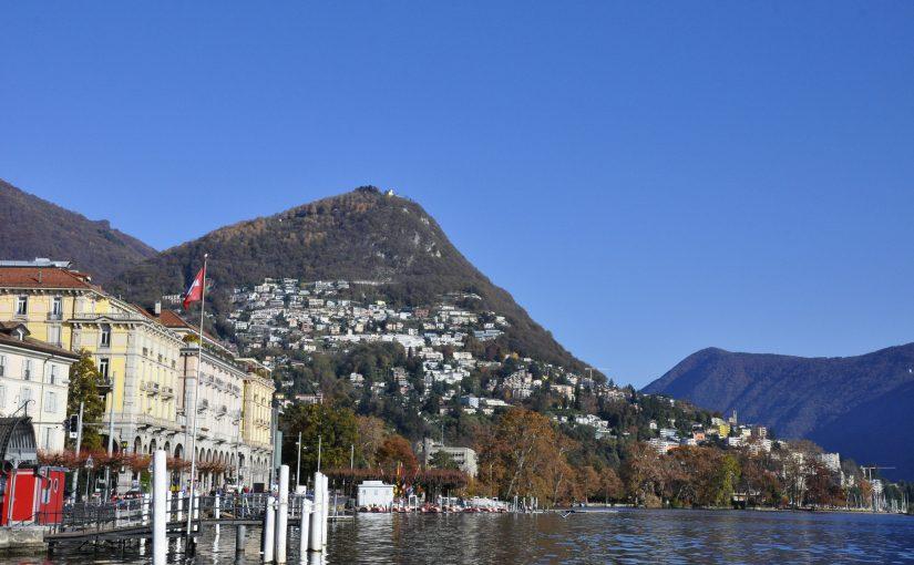 Lago di Lugano und Monte Brè