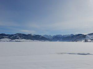 Sihlsee mit Glarner Alpen