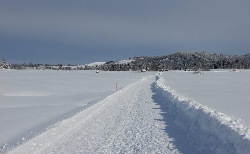Winterwandern mit eigenen Seiten