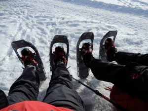 Schneeschuhparade