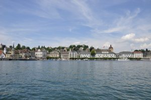 Uferpanorama in Luzern