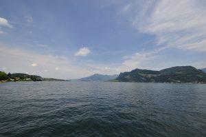 Panorama über den Vierwaldstättersee
