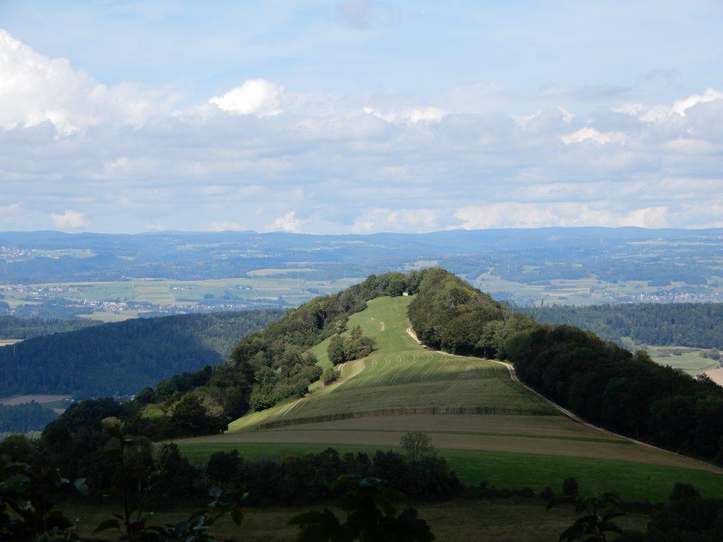 Der Laubberg vom Bürerhorn gesehen