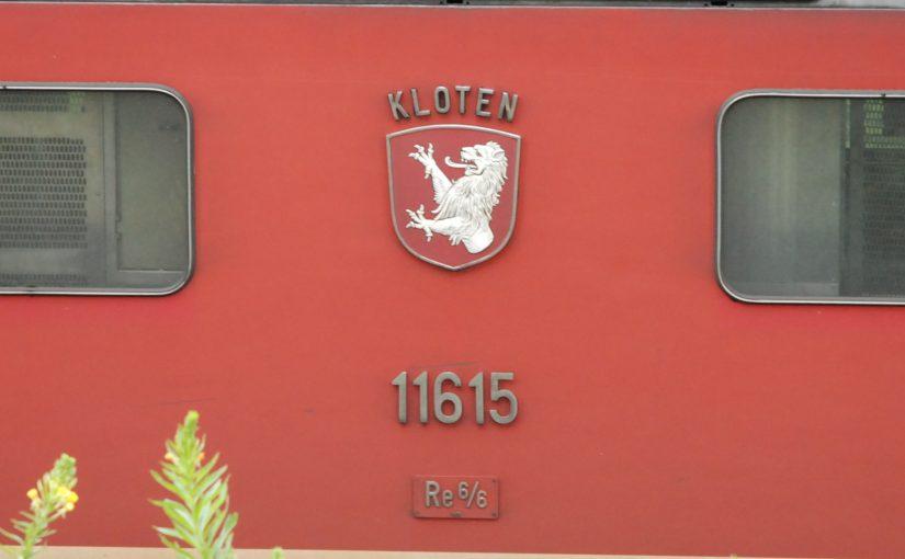 Re 6/6 11615 - Wappen Kloten