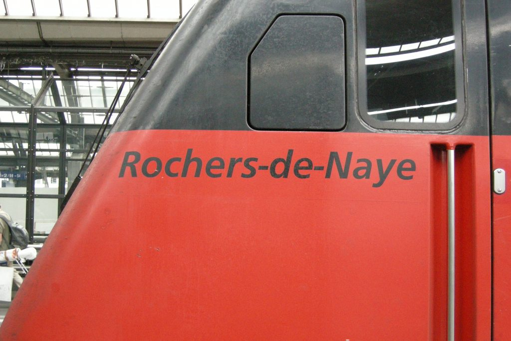 Namen Rochers-de-Naye